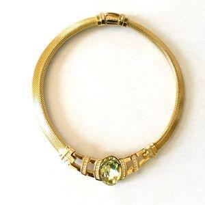 Vintage Elegant Christian Dior Choker Necklace